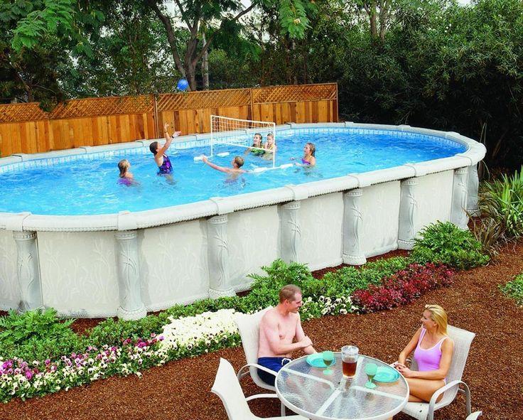 20 best landscaping around above ground pool 2019 34