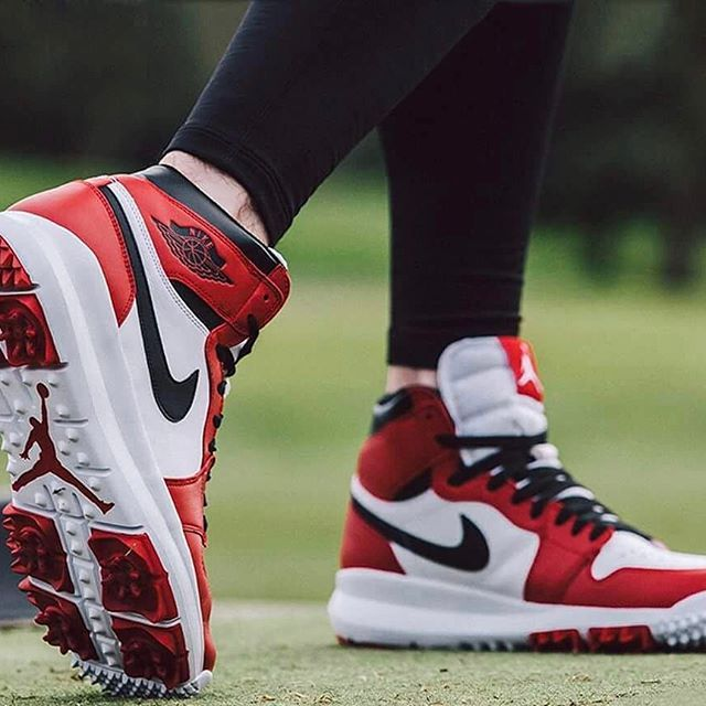 Follow @hypebeastkicks: @Nike Air Jordan 1 Golf shoe gets a release date for February 10. Drop by our site for more details.