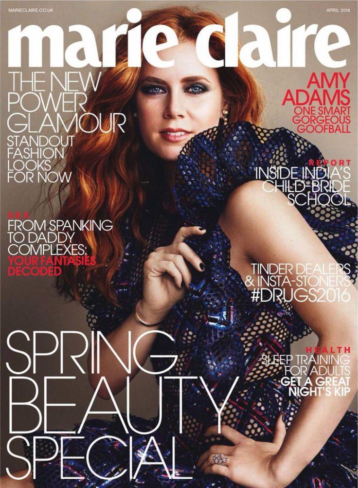 Эми Адамс (Amy Adams) в Marie Claire UK