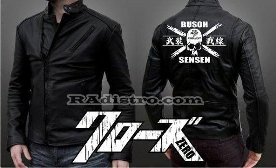 jual jaket crows zero online murah TFOA The Front Of Armament A 6 kulit