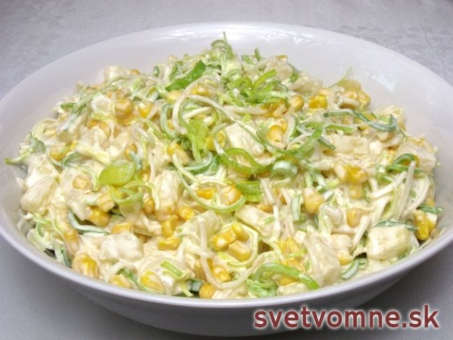 Zelerový fit šalát s ananásom • Recept | svetvomne.sk