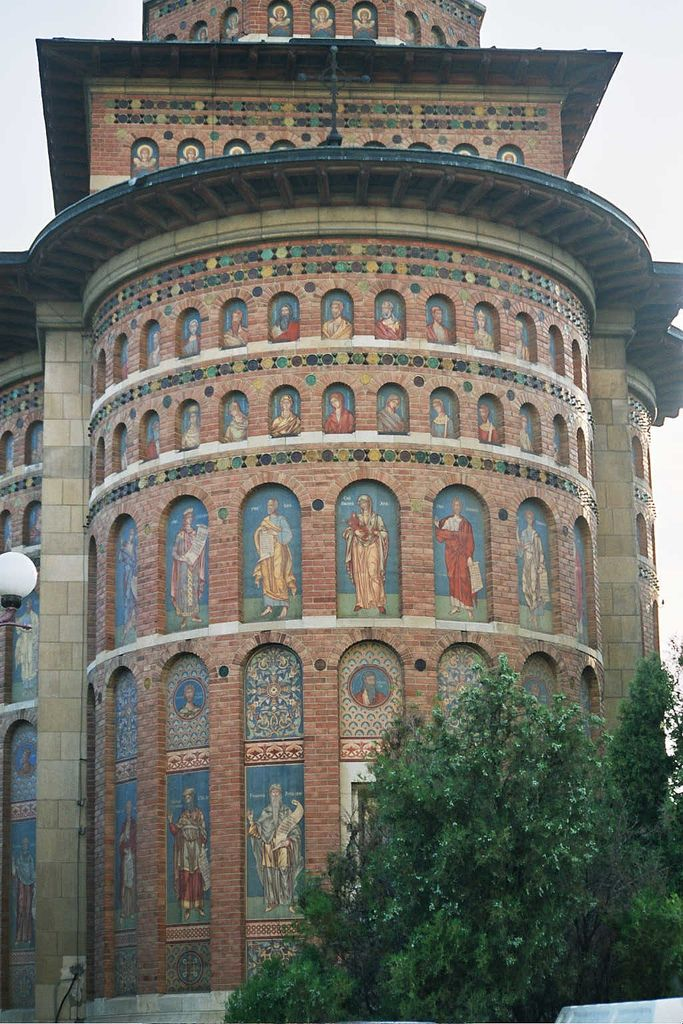 St. Nicolae Domnesc Church near the city palace...Iasi, Romania