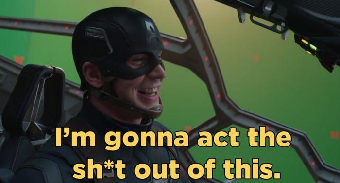 The 'Captain America: Civil War' Bloopers Are Too Damn Cute