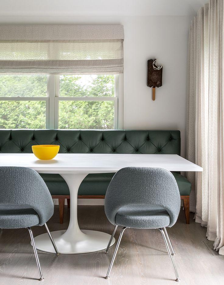Breakfast Banquette Bella Mancini Design Design Banquettes Pinterest Banquettes