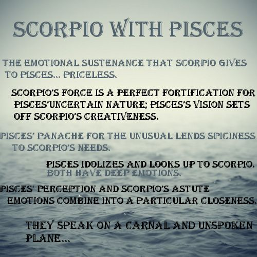 Is scorpio and pisces compatible