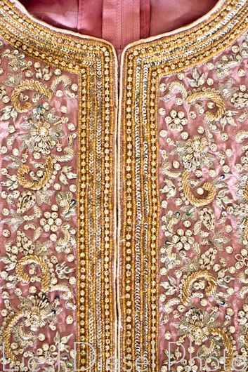 Beading Details ~ Pink and Gold