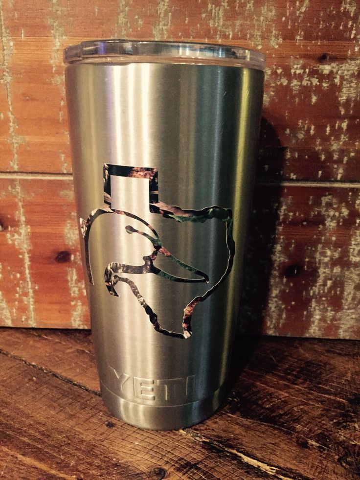 Best Cup Decals Images On Pinterest Yeti Cup Vinyl Decals - Camo custom vinyl decals for trucks