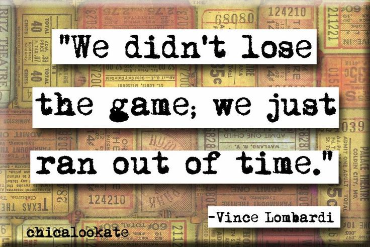 Vince Lombardi Quote Magnet (no.245)