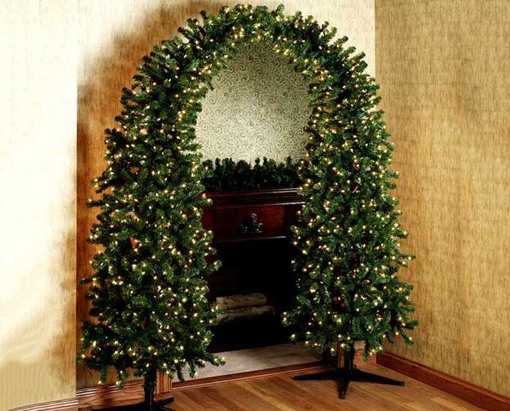 www.thegreenhead.com/2006/12/pre-lit-christmas | Pre-lit Christmas Tree Arch - The Green Head