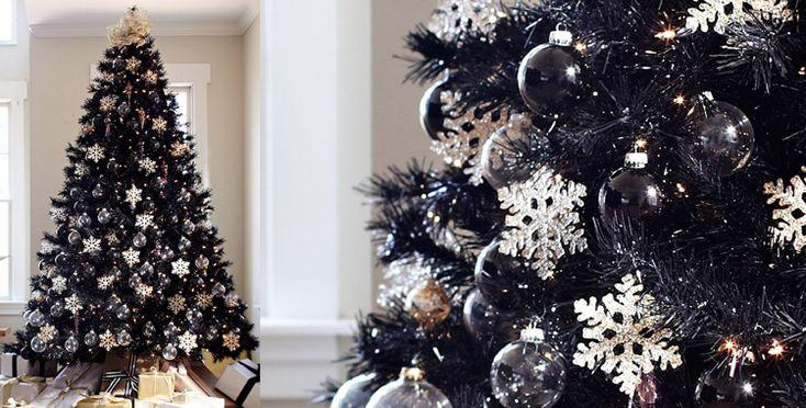 Un Sapin De No L Noir Et Blanc No L Noir Et Blanc Pinterest Christmas Ideas