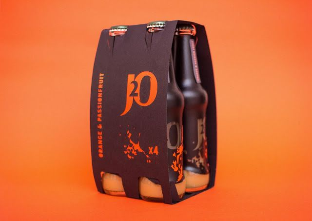 J2O Rebranded Packaging (Student Project) on Packaging of the World - Creative Package Design Gallery
