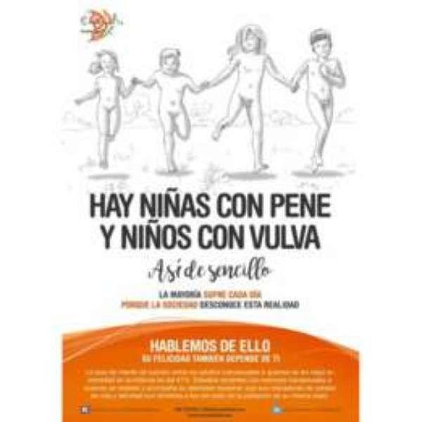 #'Há meninas com pênis e meninos com vaginas': a polêmica campanha sobre transexuais na Espanha - Terra Brasil: Terra Brasil 'Há meninas…