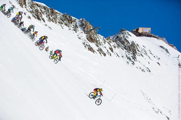 Sarenne Snow Bike in Alpe d'Huez !