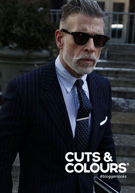 Voor de stijlvolle man met grijs haar | Cuts & Colours verkoopt de producten…
