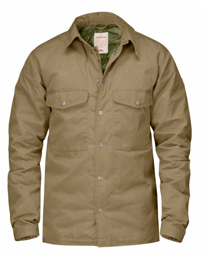 Fjellreven Down Shirt No.1 - Sand - L