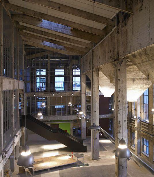 Nordkraft, former coal-fired power plant turned culturehouse. Aalborg, Denmark. Cubo Architects