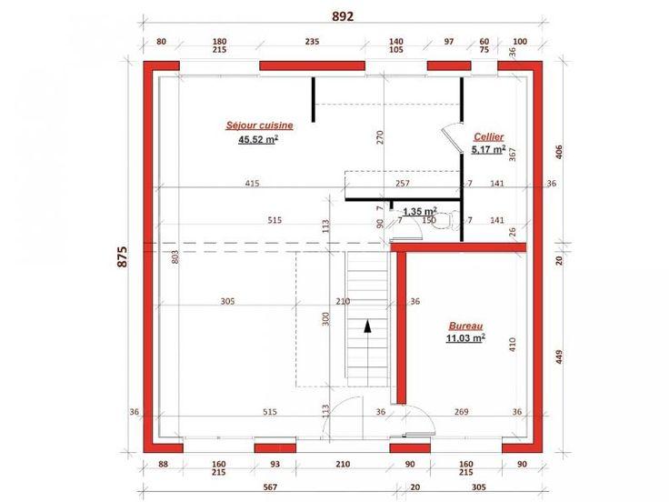 Image du tableau 2020 de micka hil | Plan maison, Plan de maison neuve, Plan maison moderne