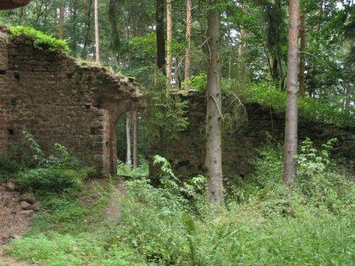 burg wasigenstein | OBERSTEINBACH - Carte plan hotel village d'Obersteinbach 67510 ...
