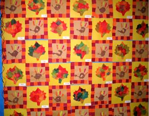 Thanksgiving Quilt Ideas for Bulletin boards