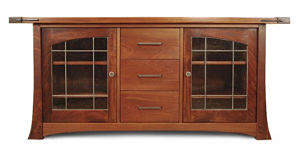 Craftsman Style Cabinets | Craftsman-Style Media Cabinet - Reader's Gallery - Fine Woodworking