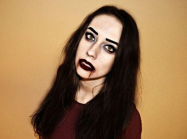 Halloween make-up  Sex...