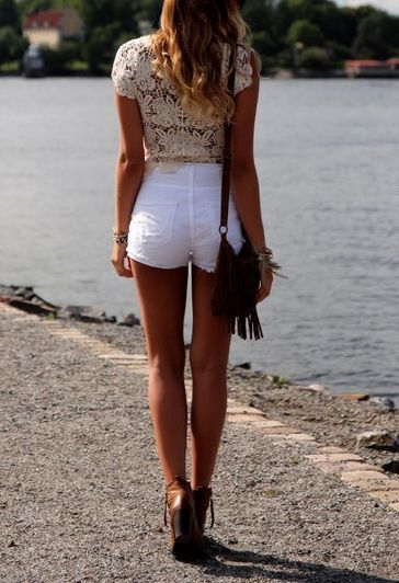 77 best High waisted shorts images on Pinterest