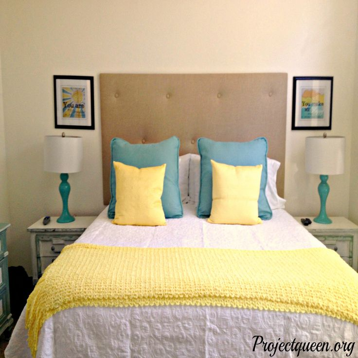 Elegant Blue And Yellow Bedroom Ideas   Ideas To Decorate A Bedroom Wall Check More  At Http Nice Ideas