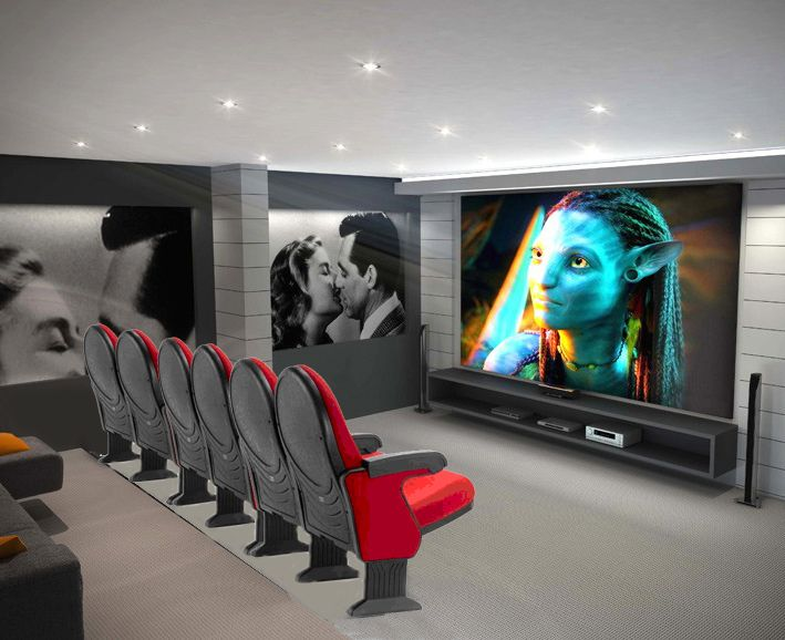 17 mejores im genes sobre butacas para teatros y cines en - Butacas cine en casa ...