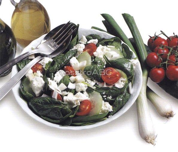 Spenótsaláta fetával | Receptek | gasztroABC