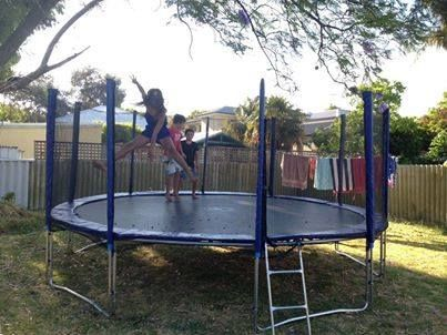 Jumbo FUN!!! 16ft of space to go crazy jumping!!! Loads of room for everyone!  www.jumpstar.com.au