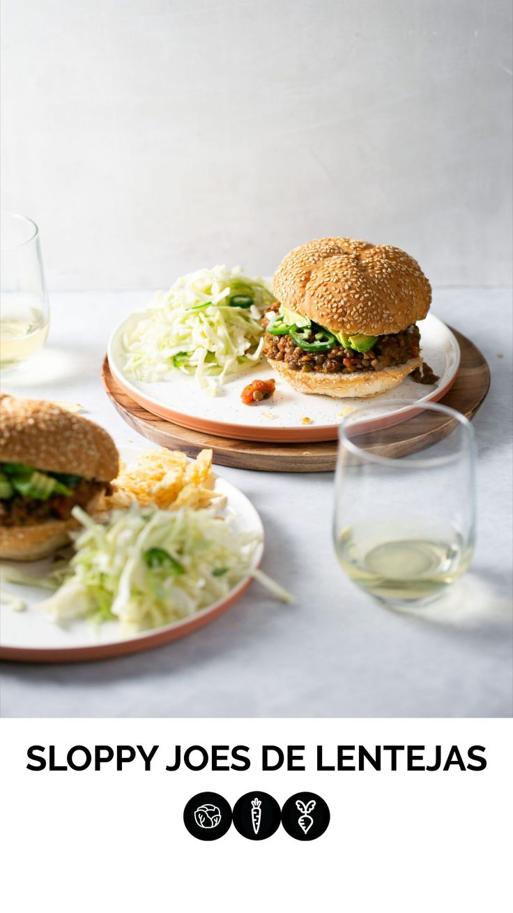 Sloppy Joe, Delicious Vegan Recipes, Healthy Recipes, Sandwiches, Party Snacks, Main Meals, Food Photography, Food And Drink, Veggies