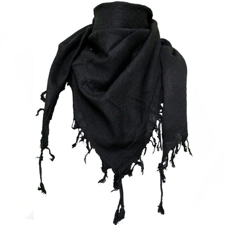 Plo Cloth Skull Haven Pali Pali Cloth Black Palestinian Arafat Kufiya