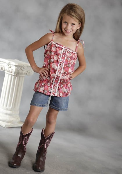 Shimmy : Girl's Western Cami | Free Shippin' on Girl's Western Wear