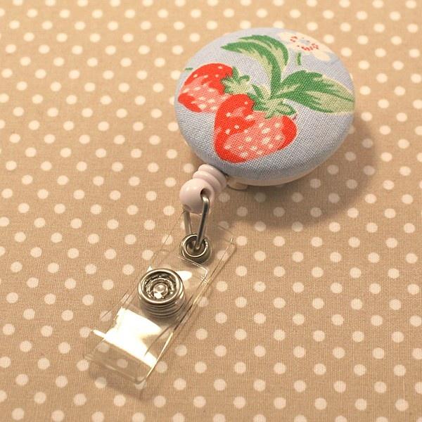 Strawberry - Retractable Lanyard