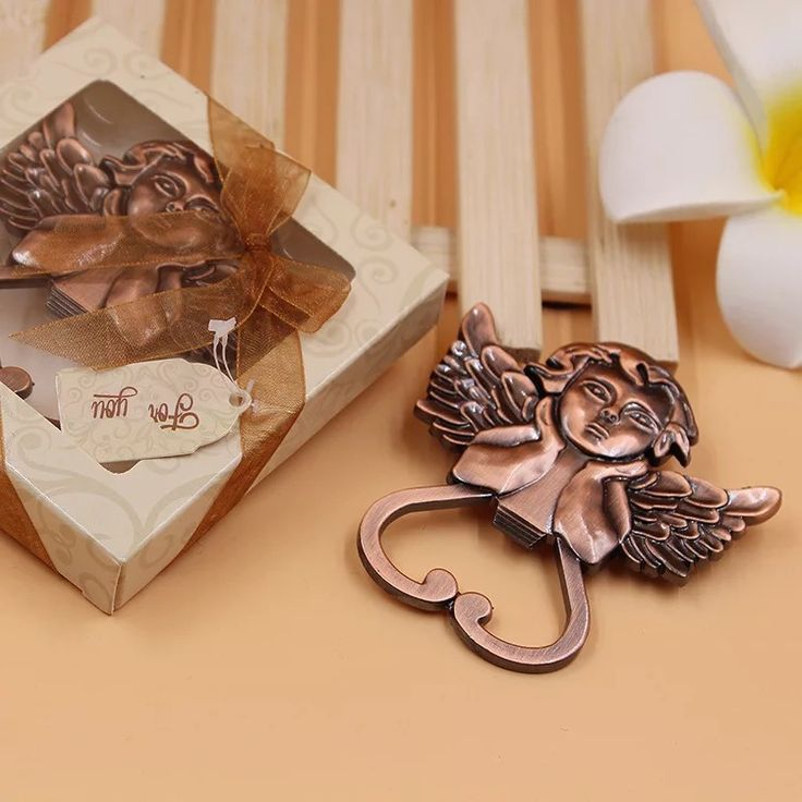 free shipping 12pc angel bottle opener wedding favors and gifts wedding gifts for guests wedding souvenirs