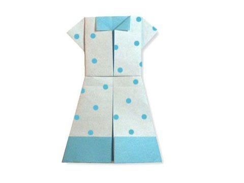 Cách gấp, xếp váy cho teen bằng giấy origami - Video hướng dẫn