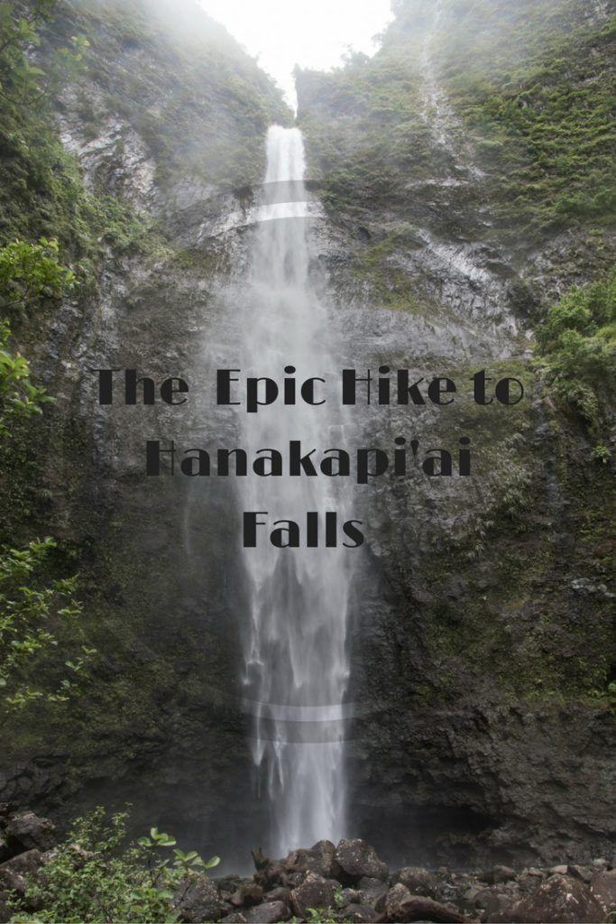 Hanakapiai Falls – Kauai, Hawaii