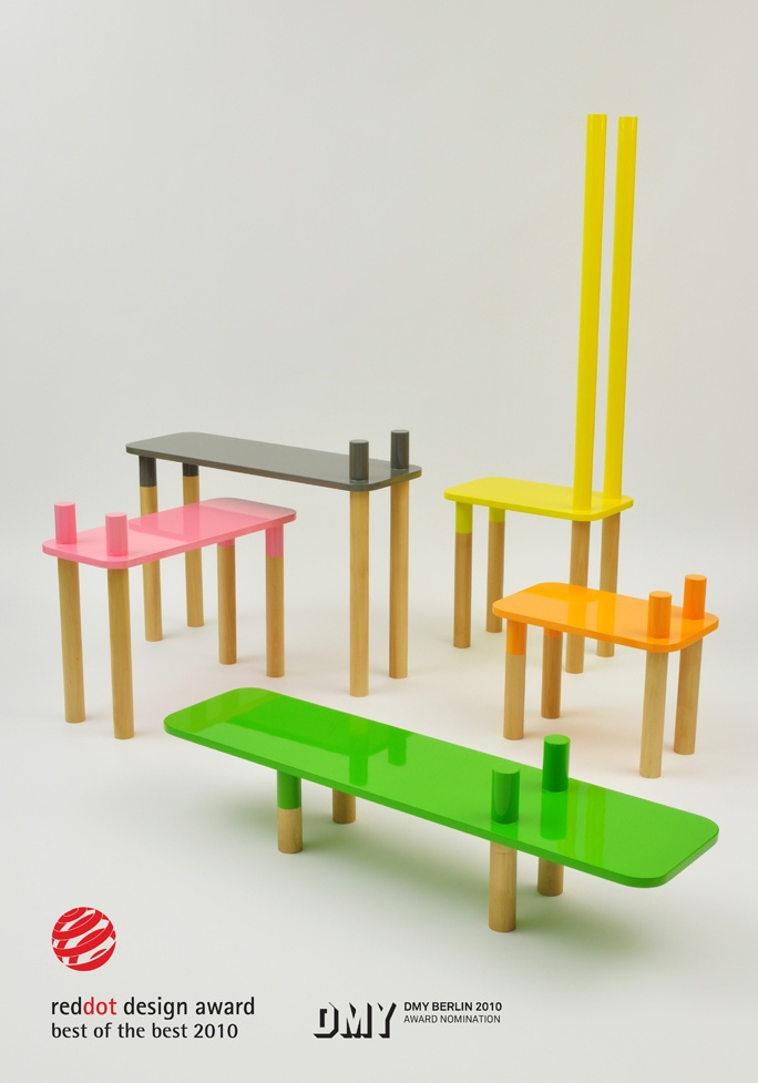 Portuguese Designer Rui Alves Of My Own Super Studio Presented This Herd Of  Benches Called Welcome To The Jungle, The Five Pieces Each Have A Flat  Surface