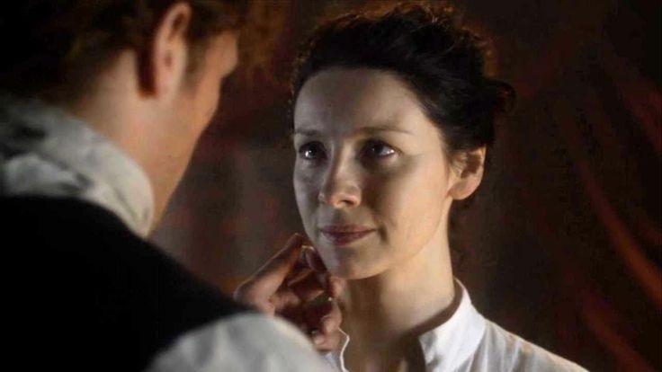 Outlander Episode 3x07 Jamie And Clarie Romantic Scenes