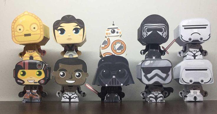 Quer ganhar todas as dobradurinhas da coleção Star Wars? Aproveitando que essa semana estamos comemorando o #StarWarsDay, vou sortear 5 kits de todas as nossas dobradurinhas do Star Wars, são elas: BB-8, Rey, Finn, Chewbacca, Kylo Ren, Poe Dameron, Flametrooper, Snowtropper, C-3PO, Capitã Phasma e Darth Vader. Pra participar é bem simples, você responde a pergunta abaixo, entra com o seu email, confirma o mesmo e pronto, já está participando. :D MAS CORRE! O sorteio serána próxima…