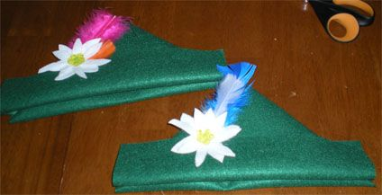 German edelweiss hat