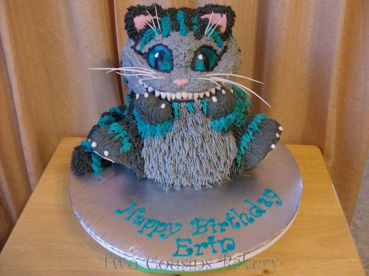 Cheshire Cat Cake Cheshire Cat Cake Birthday Cake For