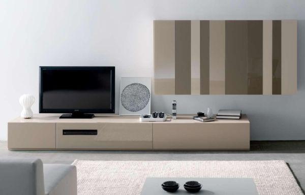 Mueble de salon moderno muebles sal n de dise o for Mueble salon colgado