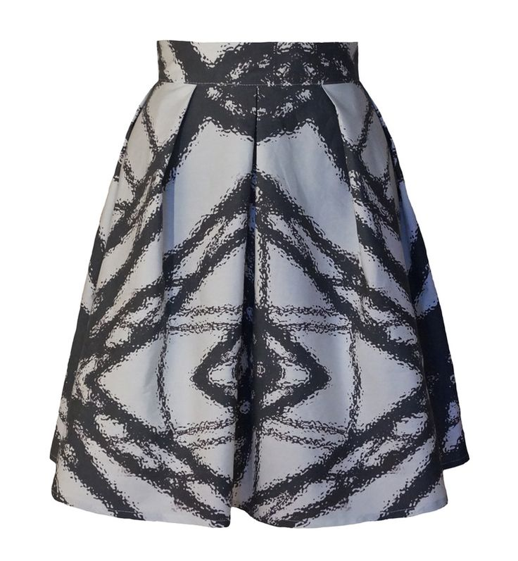 http://wildskydesign.com/  Skirt with StrukaosPrint