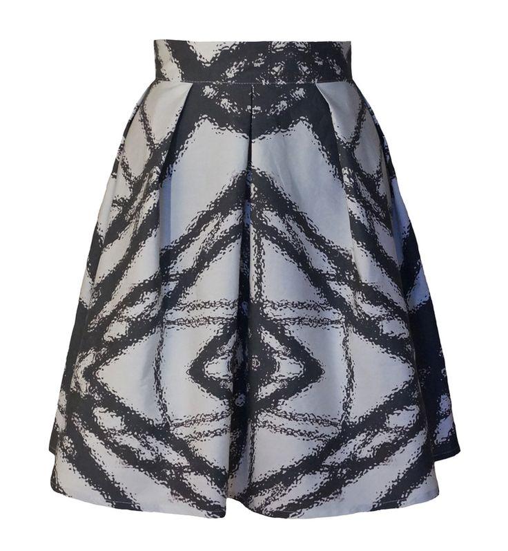 http://wildskydesign.com/  Skirt with StrukaosPrint