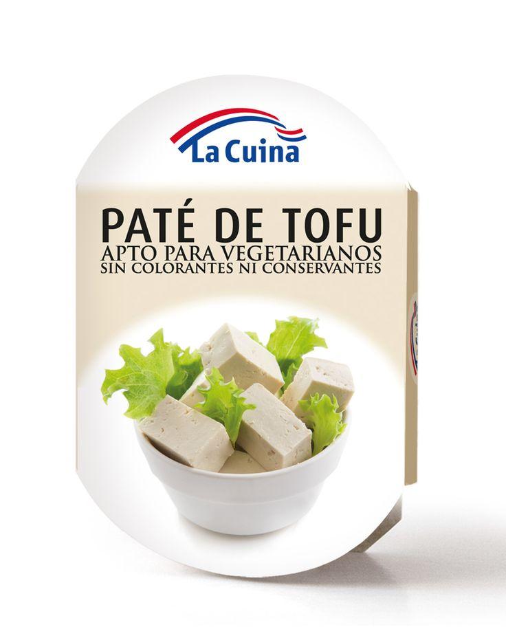 #Paté de #tofu #LaCuina apto para vegetarianos, sin colorantes ni conservantes. La mejor manera de comer sano. #comidasana #Gourmet