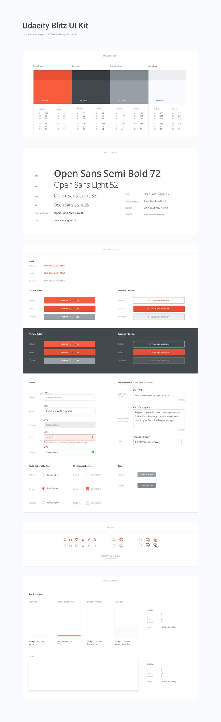 Udacity blitz   ui kit draft 2x (Tech Design)