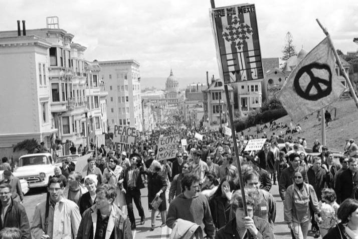 Robert W. Klein     Anti-Vietnam War Demonstration, San Francisco     1967