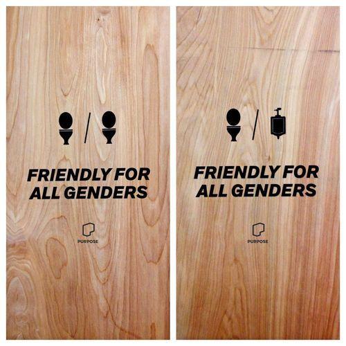 Bathroom Signs Video 194 best bathroom images on pinterest | restroom signs, toilet