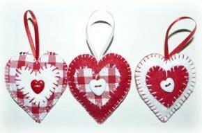 Heart decorationd